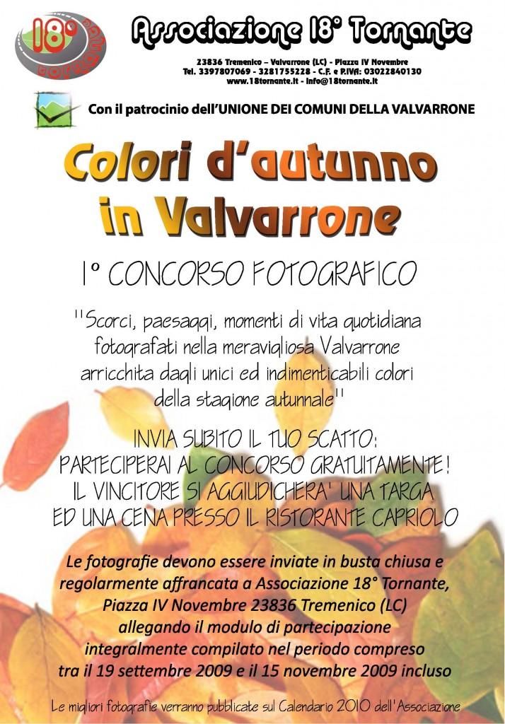 Colori d'autunno in Valvarrone